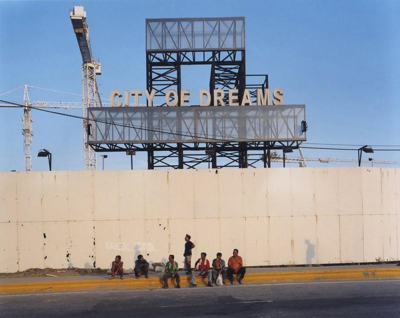 "City of Dreams Casino Construction Site, 20x24"", C-Print, 2007"