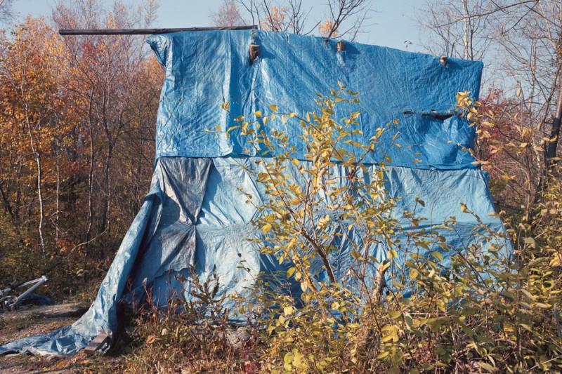 lampton, portland, blue tent #1