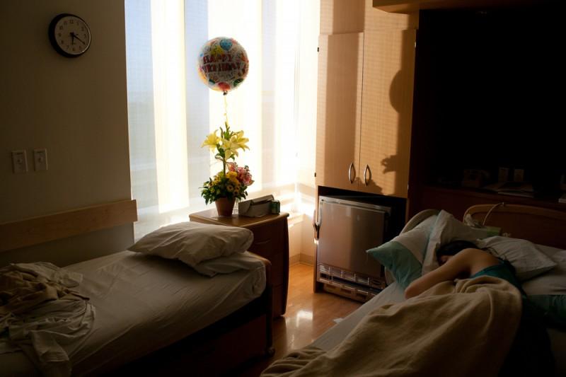 lampton, portland, hospital room